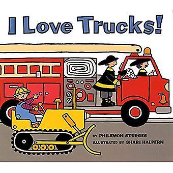 Eu amo caminhões! (Livros de troféu de harper)