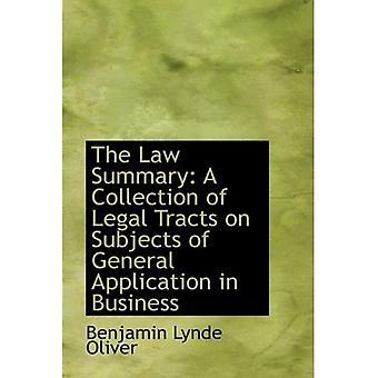 O resumo da lei