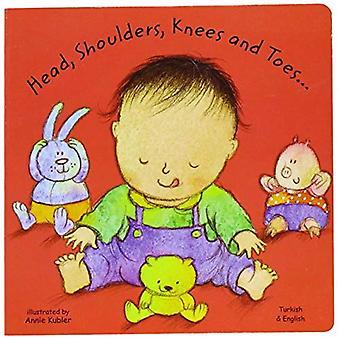 Tête, épaules, genoux et orteils en turc et ' anglais