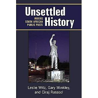 Historia sin resolver: Hacer pasados públicos del africano del Sur (africanos perspectivas)