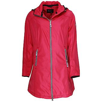 Junge Pink Raincoat With Detachable Hood