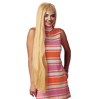 36 Inch Long Blonde Wig For Adults