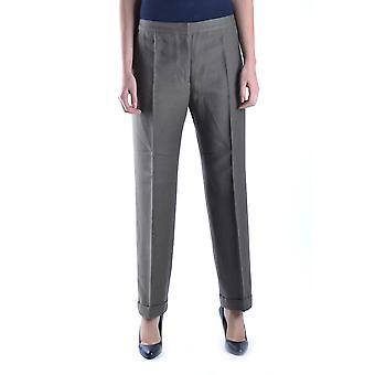Dries Van Noten Ezbc007014 Women's Grey Cotton Pants