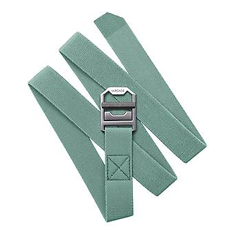 Arcade Guide Slim Webbing Belt in Grus Green