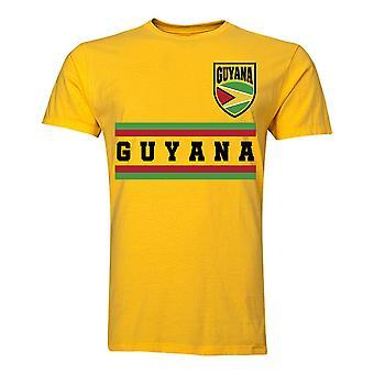 Guyana Core Football pays T-Shirt (jaune)