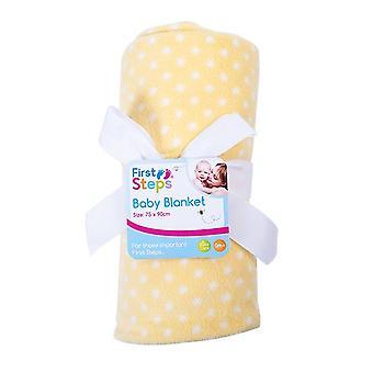 Ensiaskeleet kevyt paino painettu Fleece Baby huopa 75 x 90 cm FS628