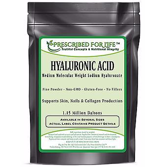 Hyaluronsyra-naturliga livsmedel grade Natriumhyaluronate (HA) pulver-medel molekyl vikt 1,15 mil Daltons