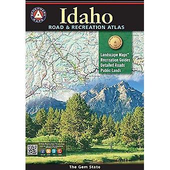 Benchmark Idaho Road & Recreation Atlas - 4th Edition by National Geo