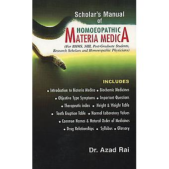 Scholar's Manual of Homoeopathic Materia Medica - For BHMS - NIH - Pos