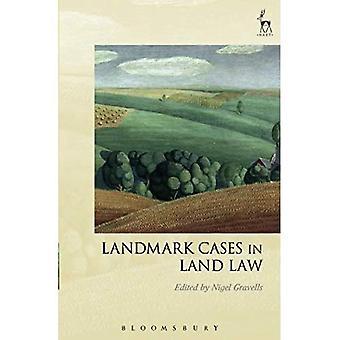 Landmark cases in land recht