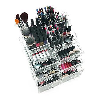 OnDisplay Sarah Deluxe Tiered Acrylic Cosmetic/Jewelry Organizer