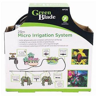 23M Mikro-Bewässerungs-Kit automatische Gartenanlage Gewächshaustropfsystem