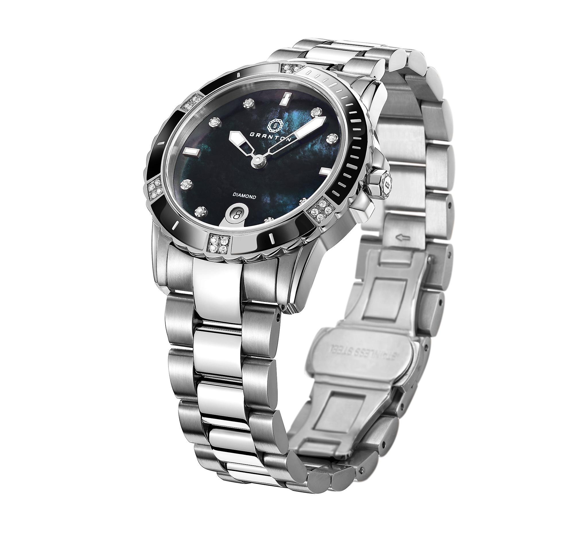 Granton - Influence - Women's Watch - Black Silver
