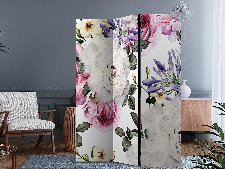 Paravent 3 volets - Floral Glade [Room Dividers]