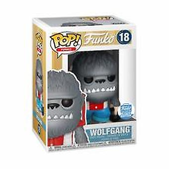Funko pop-Wolfgang 18-Funko Shop Limited Edition-Plastik + beskyddare