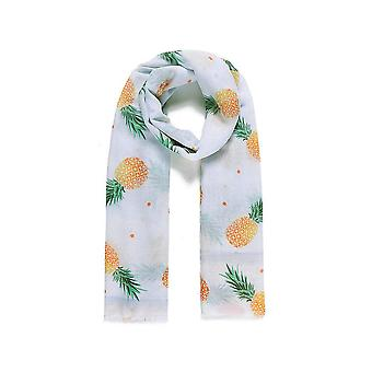 Intrigue Womens/Ladies Pineapple Digital Print Scarf