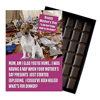 Jack Russel Dog Lover Matka?s Dzień Prezent Czekolada Prezent Prezent Dla Mumia Mumia