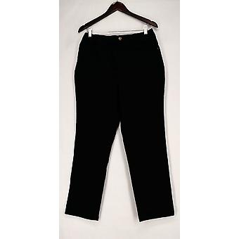 Denim & Co. Jeans How Classic 5-Pocket Black A268049