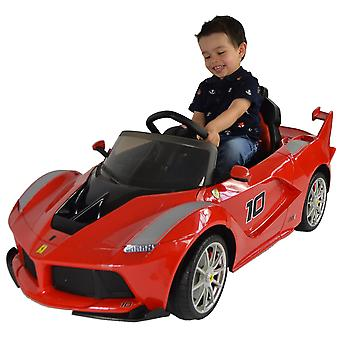 Licensed Ferrari LaFerrari FXX K 12V Battery Kids Electric Ride On Car