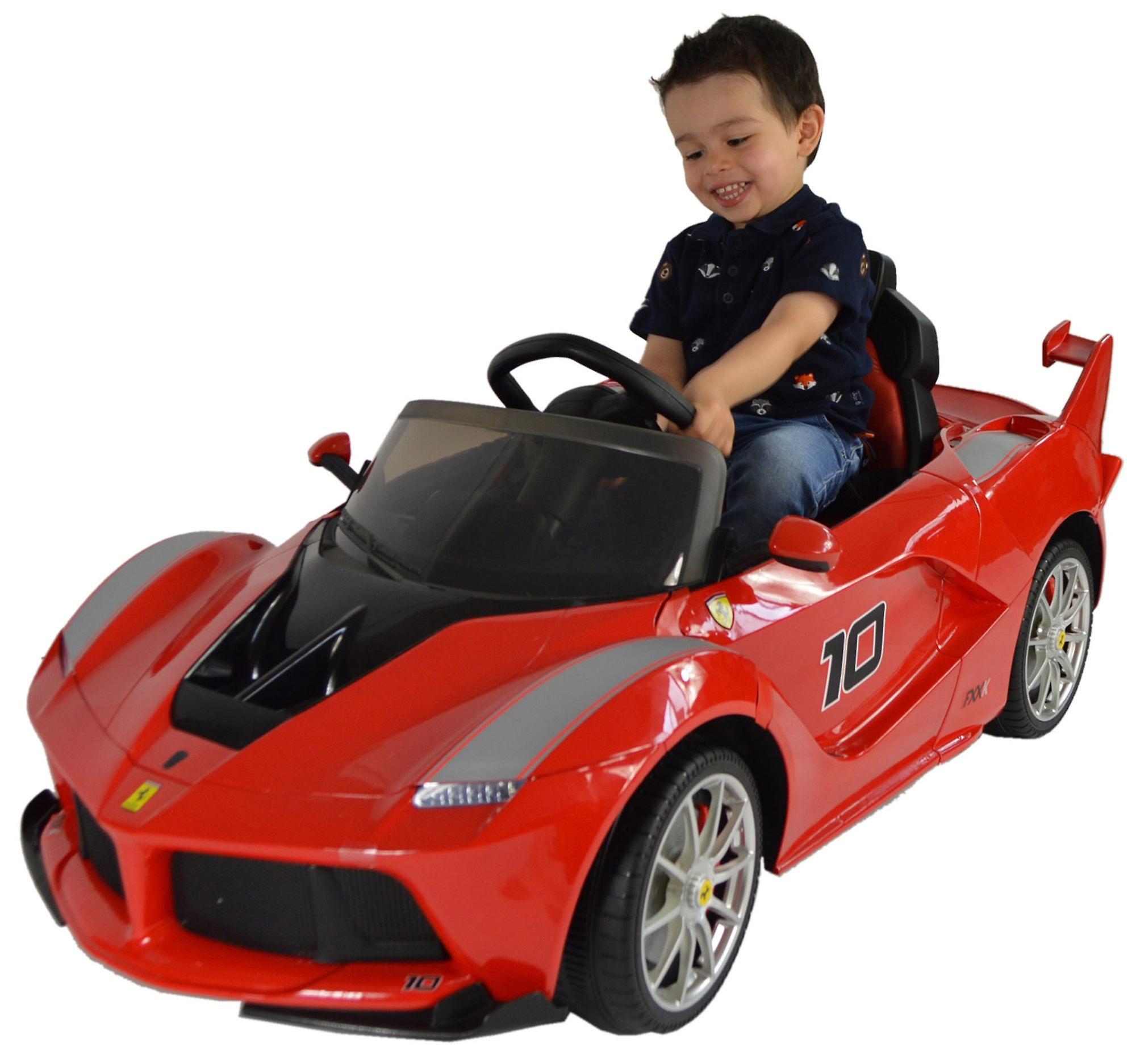 Licensed Ferrari LaFerrari FXX K 12V Battery Kids Electric Ride On Car