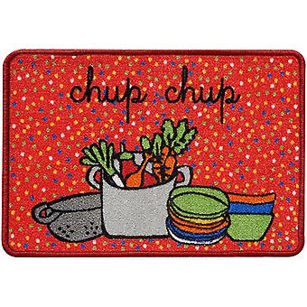 Wellindal Kitchen rug chup chup chup 44x65 cm (Kitchen , Kitchen Organization , Others)