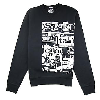 Dsquared2 Punk Bros Sweatshirt Black