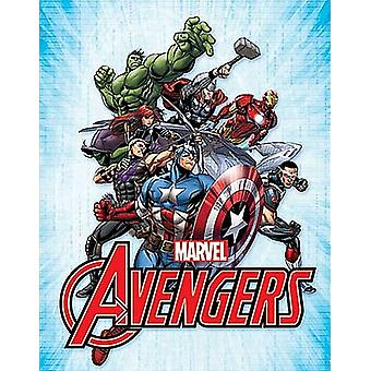Marvel Avengers Assemble metal sign 410mm x 320mm  (sf)