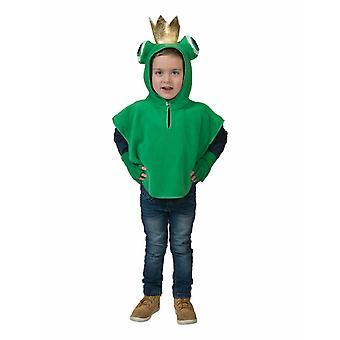 Froschkönig Kinderkostüm Froschcape Krone Kostüm Kinder Cape Karneval Märchen