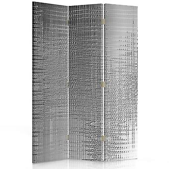 Room Divider, 3 Panels, Double-Sided, Rotatable 360 ??° Canvas, Effect Film