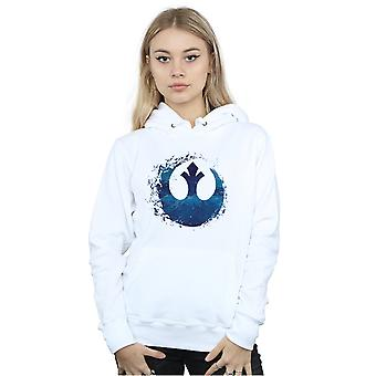 Star Wars The Rise Of Skywalker Resistance Symbol Wave Women's Hoodie
