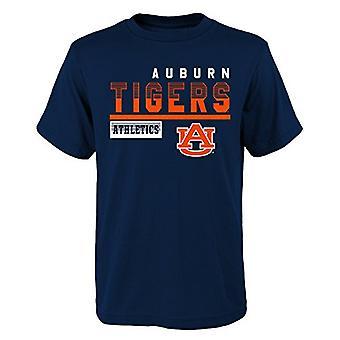 Outerstuff NCAA Auburn Tigers Dzieci i Młodzież Chłopcy Sonic Boom Podstawowa koszulka, dzieci La...
