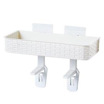 Prateleira do banheiro, branco