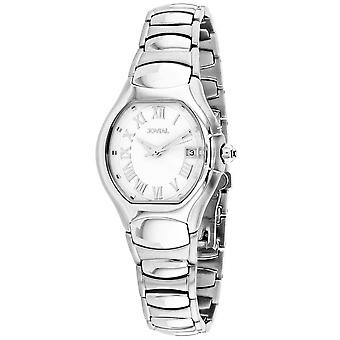 Jovial Women's Classic White Dial Watch - 08031-LSM-01