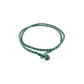 Storywheels Antique Emerald Rayon Cord 42cm Necklace RCEMRLD