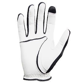 Zoom Hombres Tour Flexx-Fit Tech Guantes de Golf de Cuero RH (Left Handed Golfer)
