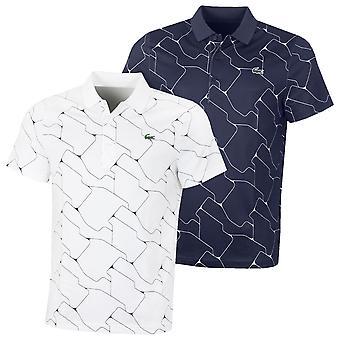 Lacoste Herren gerippten Kragen Golf Polo Shirt