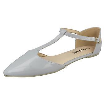 Le signore Anne Michelle T-Bar piatto Casual scarpe F80166