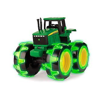 John Deere Monster Treads Light Wheels Tractor Toy