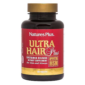 Nature's Plus Ultra Hair Plus Sustained Release Tabs 60 (4834)