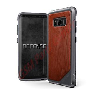 x-doria Defense Lux Cover Case with Aluminum Frame Brown, Samsung Galaxy S8