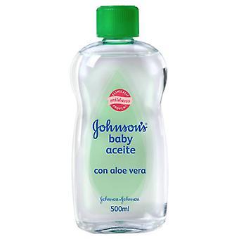 Johnson's Aloe Vera Body Oil of 500 ml