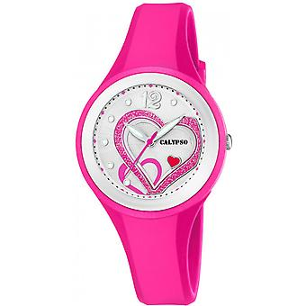 Calypso watch watches K5751-3 - watch Silicone Pink woman