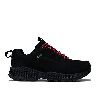 Womens Merrell Forestbound Waterproof Hiking Shoes In Black