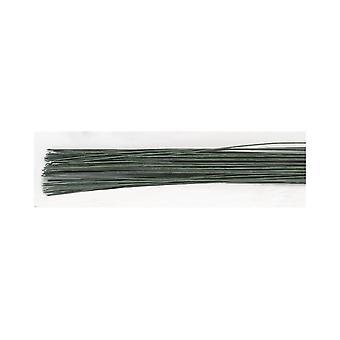 Culpitt mörkgrön socker blomma florist Wire 28 Gauge (0,38 mm) förpackning med 50