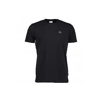Ellesse Gigante musta puuvilla-T-paita