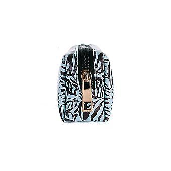 Jewelcity Femme/Dames Monochrome Tiger Camo Maquillage Sac
