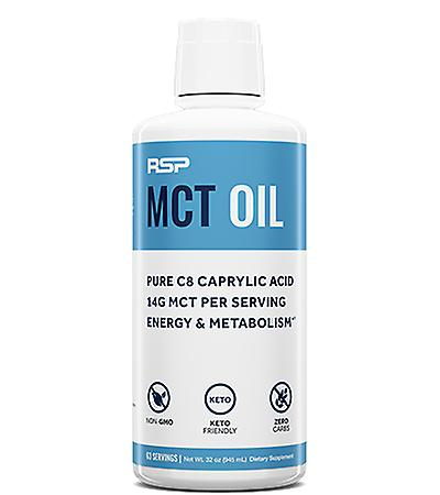 Rsp mct oil, energy & metabolism boost, pure c8, keto, healthy fats