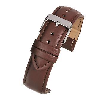Correa de reloj de cuero acolchada - colección económica