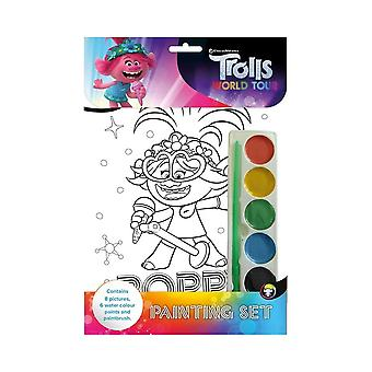 Trolls World Tour Painting Set
