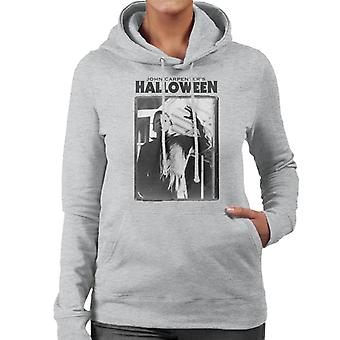 Halloween Michael Myers Portrait Women's Hooded Sweatshirt
